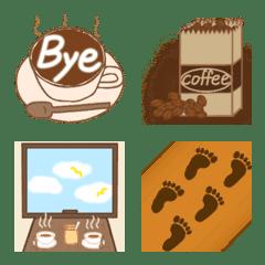 コーヒー・茶色の絵文字