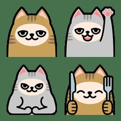 ☆双子ネコの絵文字☆
