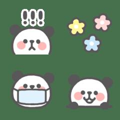 のんびりパンダ☆パステル絵文字