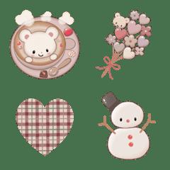 mike emoji 3 冬 ver.