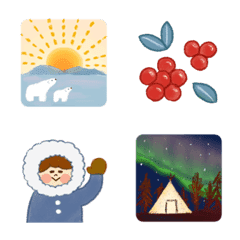 季節の絵文字【1月】