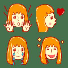 大人女子のきどあいらく絵文字【改良版】