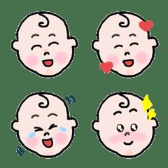 あかちゃんの感情絵文字