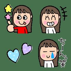 まゆちゃん絵文字