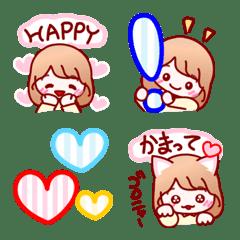 かわいい♡ ちょこGirlちゃん カラフルVer.