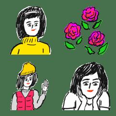 イッレ・コスヤの絵文字1(年末年始)
