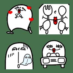 シンプル絵文字 10