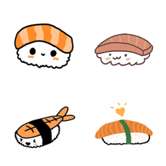 とてもかわいいお寿司