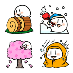 小さなオバケちゃん 季節