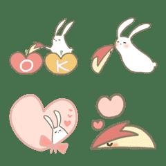 うさぎとリンゴうさぎ