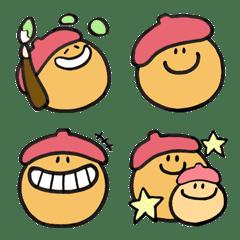 あのファニーフェイス by ano (ベレー帽)