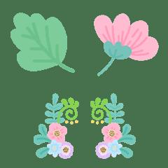 Flower and bracket emoji