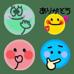 カラフルな丸い子♡4