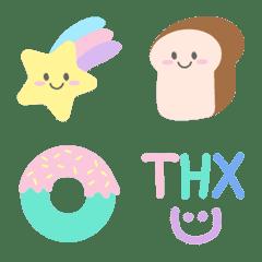 Decor Stuff  Pastel Emoji