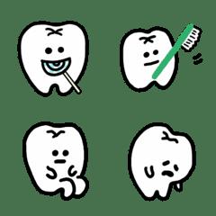 歯たちの絵文字 (2)