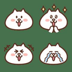 白ネコのにゃんた 絵文字