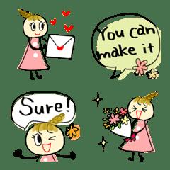 Happyさん2♡気持ちが伝わる絵文字♡