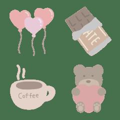♡な絵文字と時々チョコレート