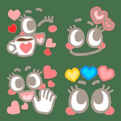 会話で使おう!ポップ♪でキュート♡顔emoji