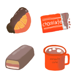 chocoholic♡♡(ペンギンカフェ3)