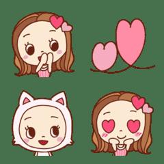 ピンクがたくさん姫系女子