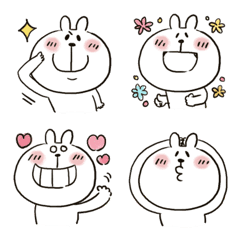 うさぴ★絵文字6【再販】