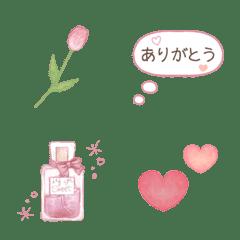 気持ちを伝える大人可愛い姫系絵文字