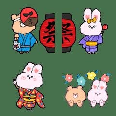 アニマル通年行事【絵文字ver.】