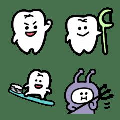 歯たちの絵文字 (3)