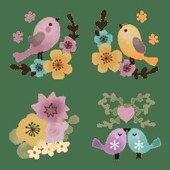 ♢♡花と小鳥♡♢