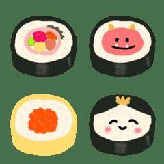 太巻き絵文字 冬→春イベントを愛でるの巻