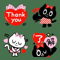 ねこちゃんズ絵文字❤️…LOVE
