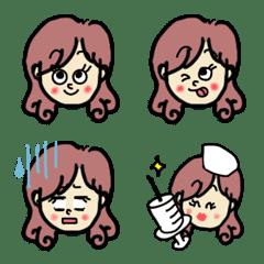 かわいい♡女の子♡彼女♡ママ♡絵文字