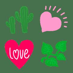 ★ハート&植物★