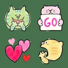 子猫3きょうだい♡絵文字