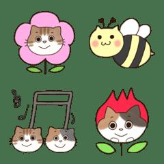 ♡♥ミケ猫とトラ猫の日常☺︎春♥♡