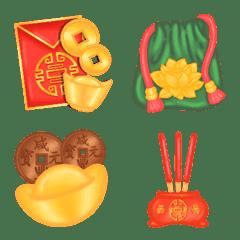 Chinese New Year cute emoji
