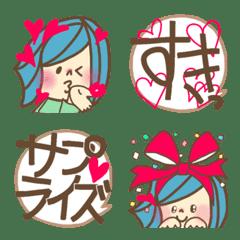 おかっぱワニコの吹き出しシリーズ【LOVE】