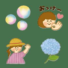 季節の絵文字【5月】
