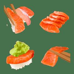 熟成サーモンです 刺身&寿司