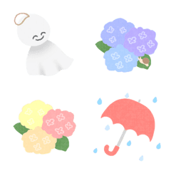 梅雨の絵文字