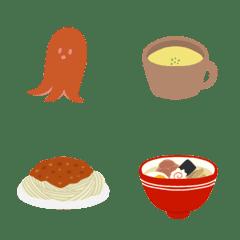 食いしんぼうの絵文字