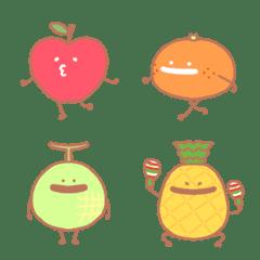 げんきなフルーツたちの絵文字