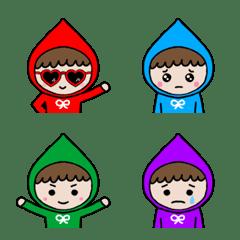 10色の小人ちゃんセット(1)