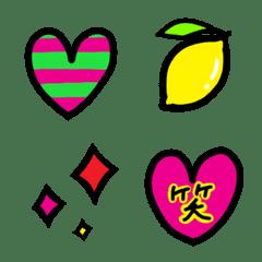 カラフル★ポップ絵文字