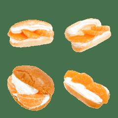 フルーツサンドです コッペパン みかん