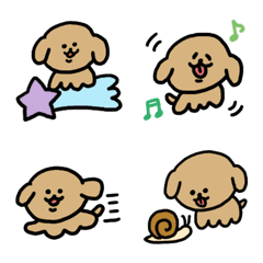 頭が悪い犬の絵文字