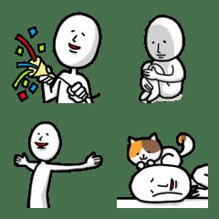 謎の人emoji(太線)
