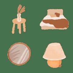 Brown interior Emoji