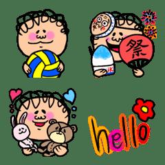 かわいいobaozi絵文字2